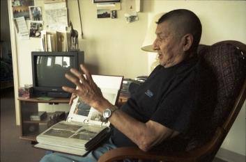 Biscoe Spotted Wolf évoque ses souvenirs