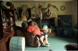 Don Elkshoulder. Cheyenne du Nord. Lorsque je l'ai rencontré, il était le gardien des flèches sacrées. Un rôle très dès important.