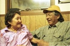 Joseph et Elisabeth Montour sur la réserve de Hobbema Alberta Canada