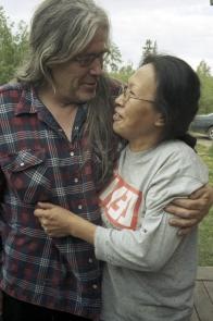 Ron Parker dit Nanu avec sa femme Veronica