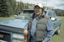 Donald Smallboy. Bighorn. Alberta. Canada.