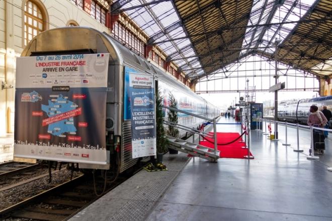 Le TNFI à la gare Saint Charles de Marseille