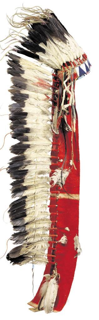 coiffe de plumes