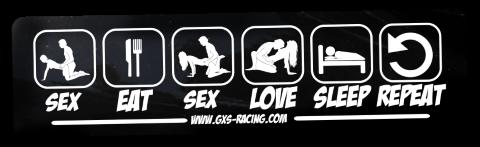 Small Sticker Ride SEX